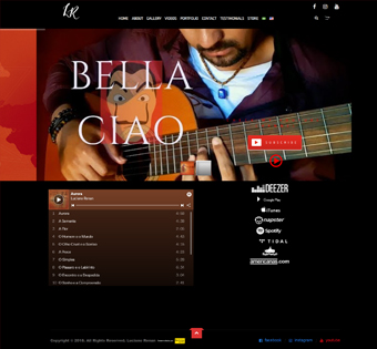Site Onepage – Modelo 4